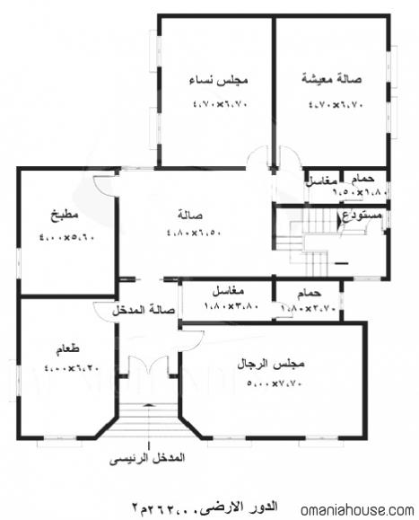 تصميم وخرائط حوش ليبيا احلى بنات