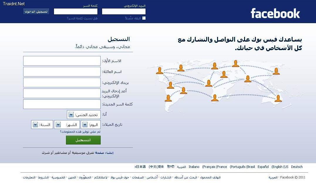 تسجيل الدخول للفيس بوك - احلى بنات