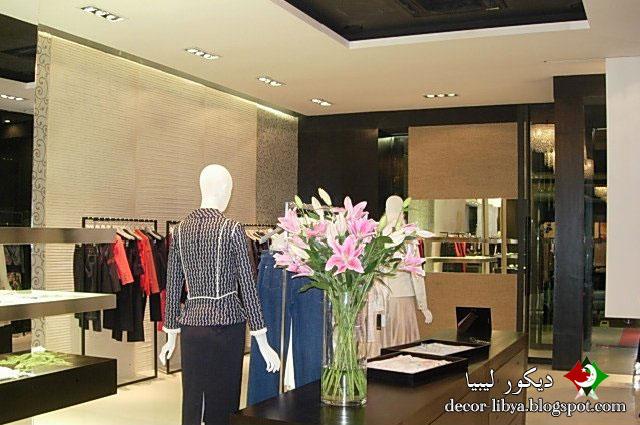 صورة ديكور واجهات محلات ملابس