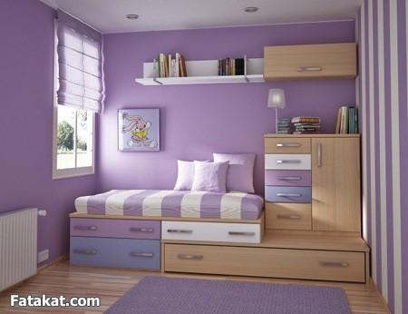 صورة دهانات خشب غرف النوم اطفال