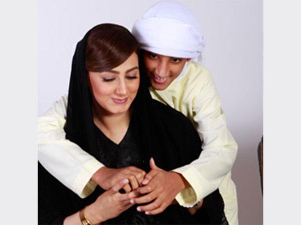 صور ابن الممثلة هيفاء حسين