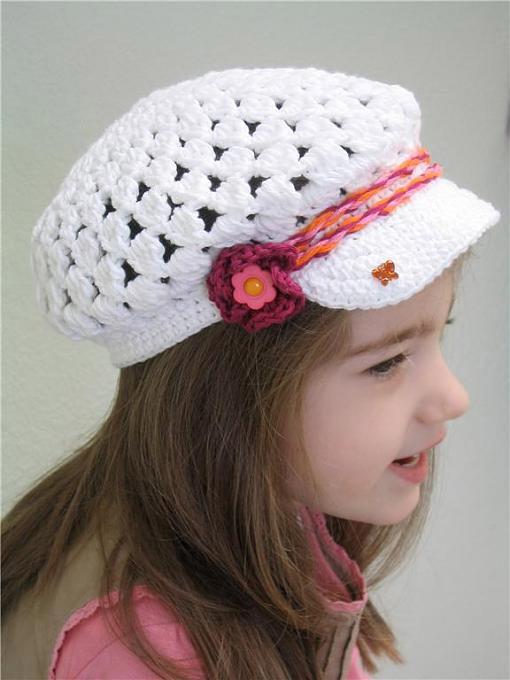 صورة اعمال كروشيه قبعات للبنات