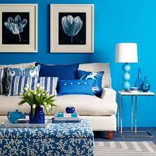 صور غرف صالونات باللون الازرق